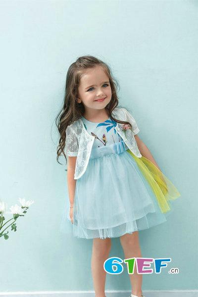 安尼贝贝babudian童装品牌2017年夏季新品