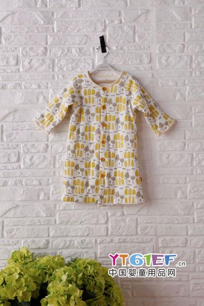 初生婴儿什么衣服最好,就选三木比迪童装