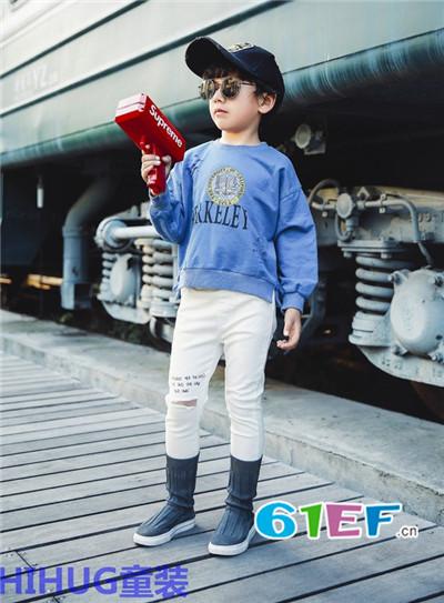 HIHUG童装品牌当季货品调换比例为不超过进货额的10%