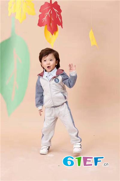 班吉鹿banjilu童装品牌2017年秋季运动套装