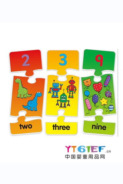 维京玩具婴童玩具数字拼图