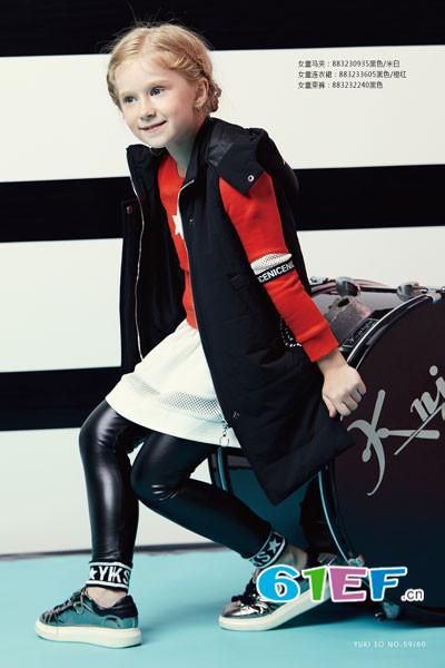 YukiSo童装品牌,来源于欧美地区,融入中国元素