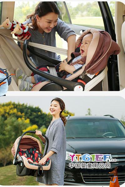 贝贝卡西汽车儿童安全座椅 重新定义安全、舒适、时尚