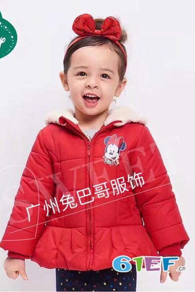 兔巴哥童装品牌2018招商火热启动...