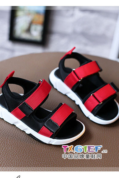 童盈童鞋品牌软底舒适休闲凉鞋