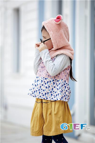 爱佳乐Rag Mart童装品牌2017年秋冬印花棉衣马甲