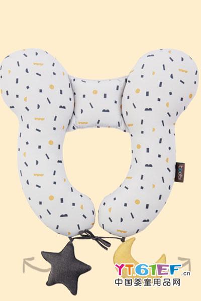 艾普迪todbi婴儿护颈枕头2017年新款儿童U型枕安全座椅婴儿车用家用婴儿颈枕 海的朋友