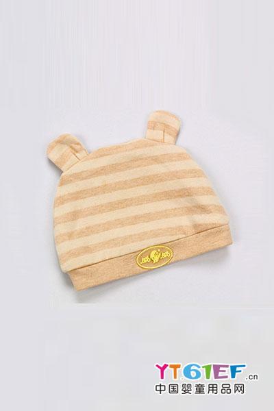 威威婴儿用品彩棉胎帽