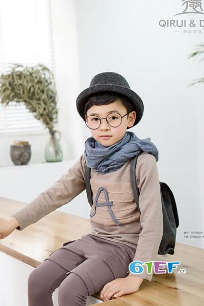 琦瑞德泽童装品牌2017年秋冬纯棉T恤