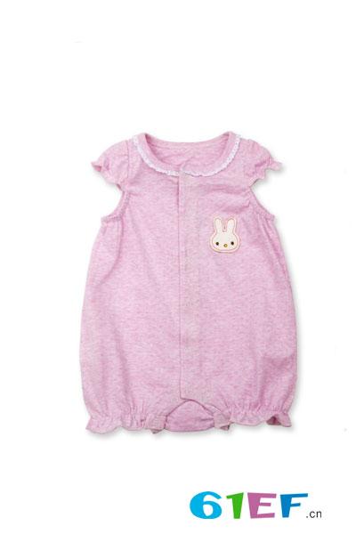 润婴宝短袖连体服