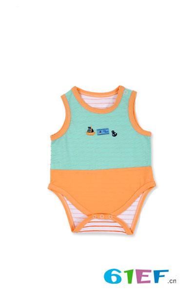 润婴宝无袖连体服
