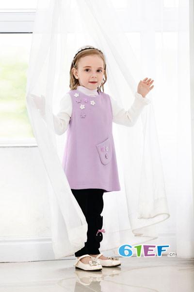卡莎梦露童装品牌2017年秋冬婴幼外出服套装