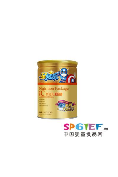 星炫乐茵儿锌牛乳咀嚼片60片婴幼儿维生素C营养包