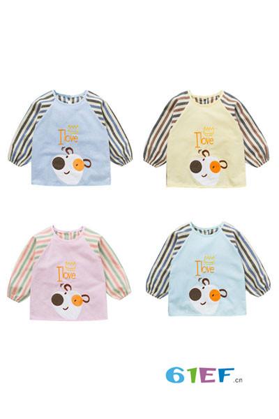 卡诺贝儿童装品牌2017年秋季  婴儿罩衣