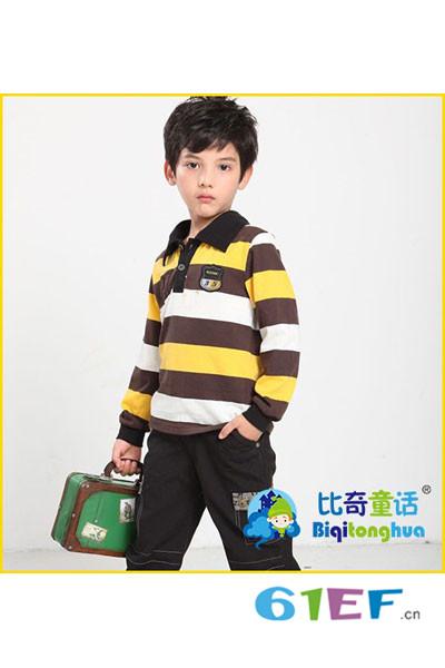 比奇童话童装品牌受众群体  2-16岁新生代都市儿童