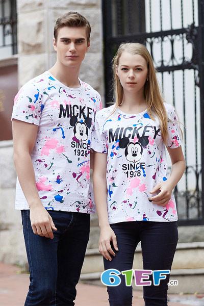 迪士尼DISNEY青少装情侣亲子2017年夏季