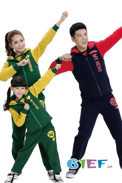 兰缔吉儿童装品牌2017年秋冬时尚亲子套装