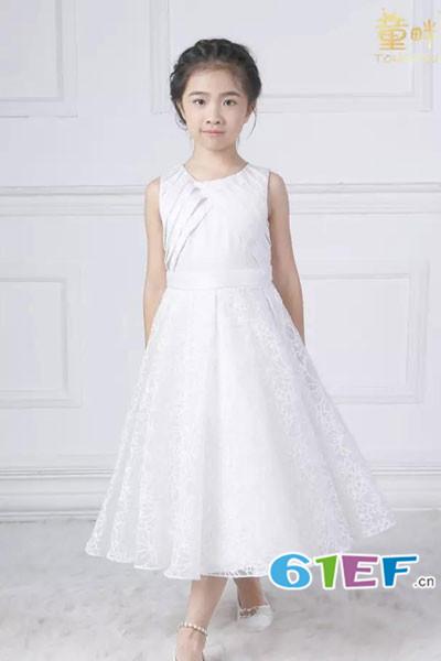 童畔童装品牌2017年秋冬公主礼服
