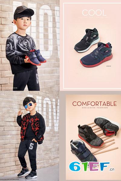 时尚狗狗.哈贝多童鞋品牌 独家研发的透气环保耐磨材料