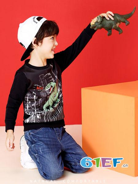 安奈儿专注于为0-12岁提供精致、舒适的中高档休闲童装