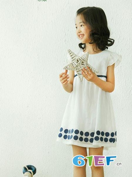 布景亲子时尚优雅可爱连衣裙
