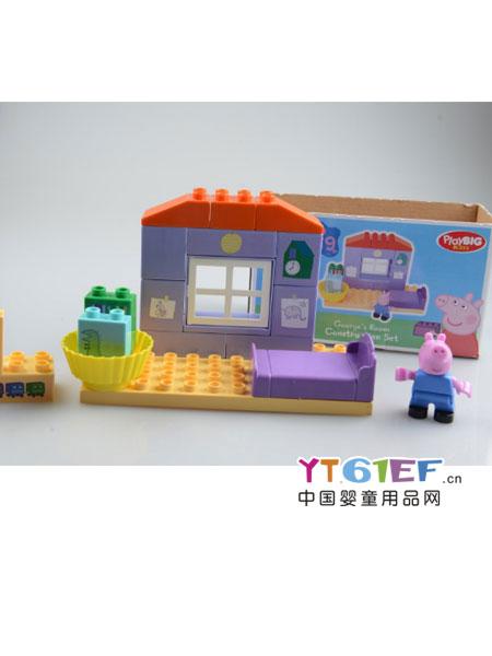 安德鲁尼婴童玩具小猪佩奇组合玩具4