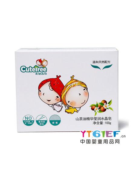 天使森林婴童用品山茶油精华防皲裂霜
