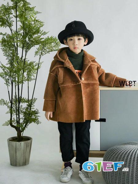 童衣汇童装品牌2017年秋冬时尚休闲毛绒中长男外套