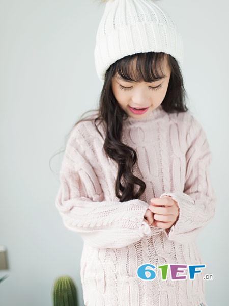 K.Body℃/宝贝衣舍童装品牌2017年秋冬时尚百搭高领女毛衣