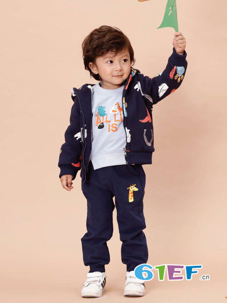 班吉鹿banjilu童装品牌2017年秋冬长袖外套