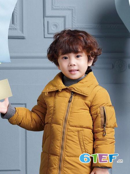 世纪童话童装品牌2017年秋冬时尚韩式男棉衣外套