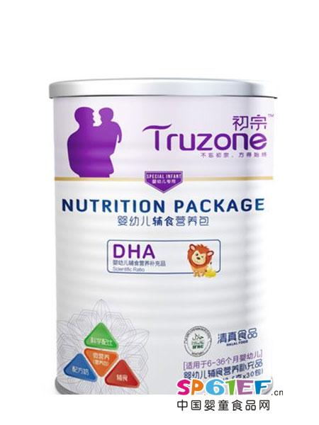 初宗婴儿食品婴幼儿DHA辅食营养包
