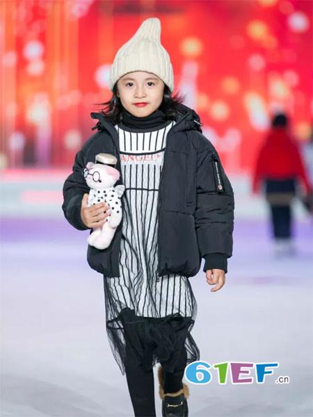 泰迪珍藏童装品牌2017年秋冬时尚休闲保暖短装女棉衣