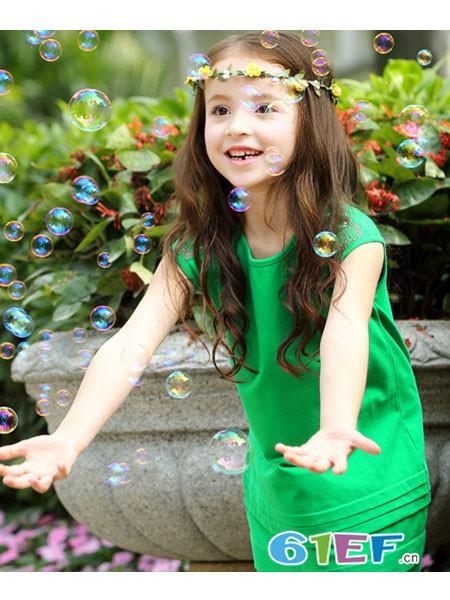 小熊空间童装品牌时尚休闲女裙