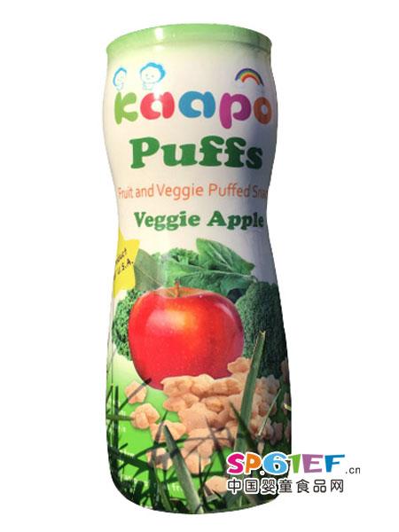格蓓kaapo泡芙婴儿食品蔬菜苹果系列