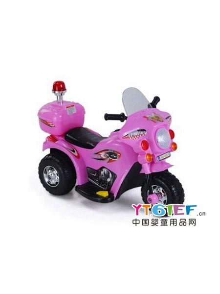 小红鱼童车类三轮电动摩托车