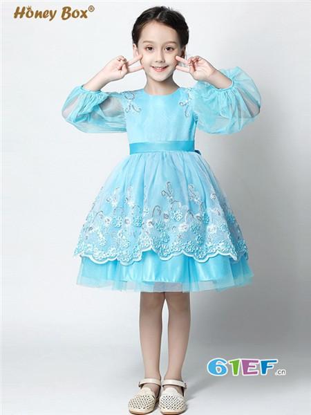 蜂蜜箱子童装品牌公主裙连衣裙儿童舞台表演服花童礼裙舞台演出服
