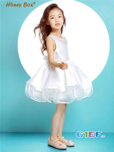 蜂蜜箱子童装品牌花童礼服婚宴晚宴服表演演出蓬蓬裙
