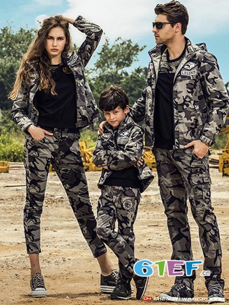 战地情侣亲子装 军旅元素为切入点的原创设计师品牌