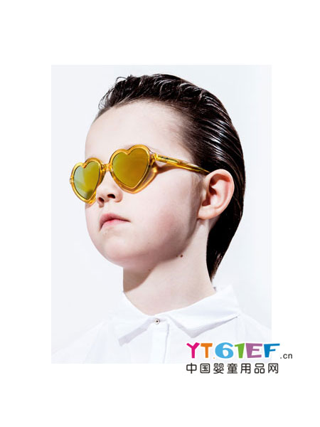 尚儿多婴童用品时尚心形太阳镜