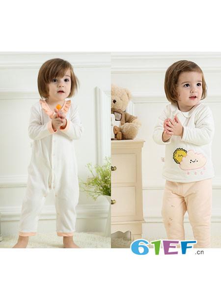 奥米多童装品牌  采用高品质进口的低碳、可再生面料