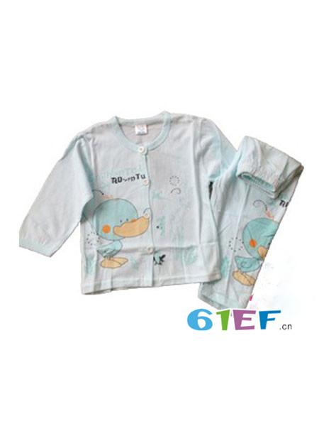 咿呀贝贝龙8国际娱乐官网品牌休闲卡通男女童内衣睡衣