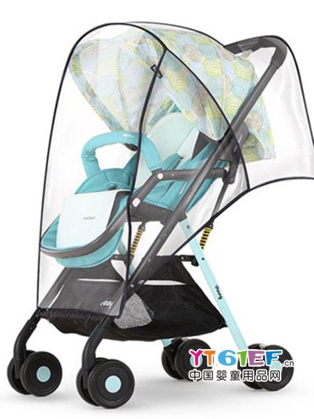 Vinng童车类婴儿推车雨罩加厚婴儿车防风防雨罩儿童伞车雨罩推车挡风罩