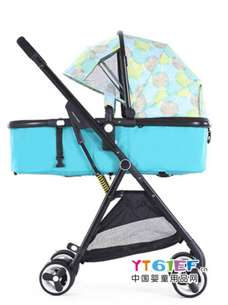 Vinng童车类婴儿推车高景观轻便小可坐躺婴儿车折叠双向便携式宝宝伞车