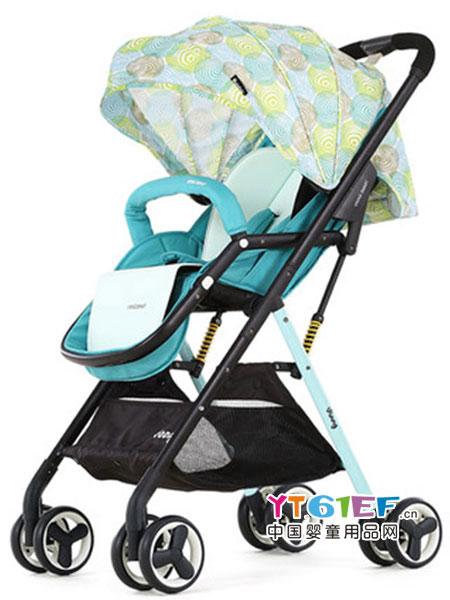 Vinng童车类高景观婴儿推车可坐躺超轻便折叠简易便携式小宝宝口袋伞车