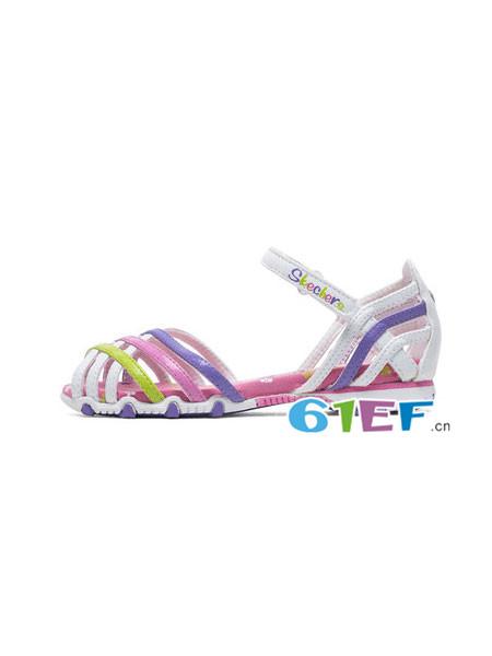 斯凯奇童鞋品牌时尚甜美女凉鞋