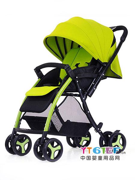 智儿乐童车类便携可坐躺婴儿推车