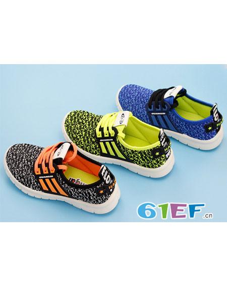 广迪童鞋品牌跑步鞋休闲时尚防滑运动鞋