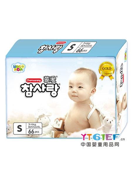 蒙爱婴童用品金装超薄纸尿裤S码