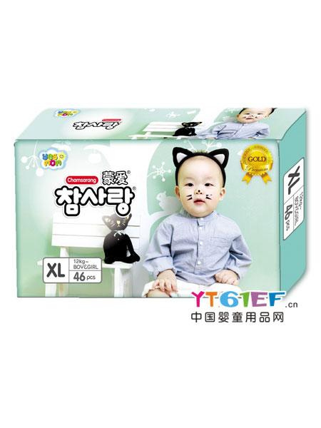 蒙爱婴童用品金装超薄纸尿裤XL码